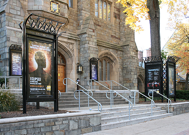 University Theatre Display Cases, Yale University