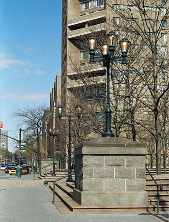 Duke Ellington Circle Lights, New York