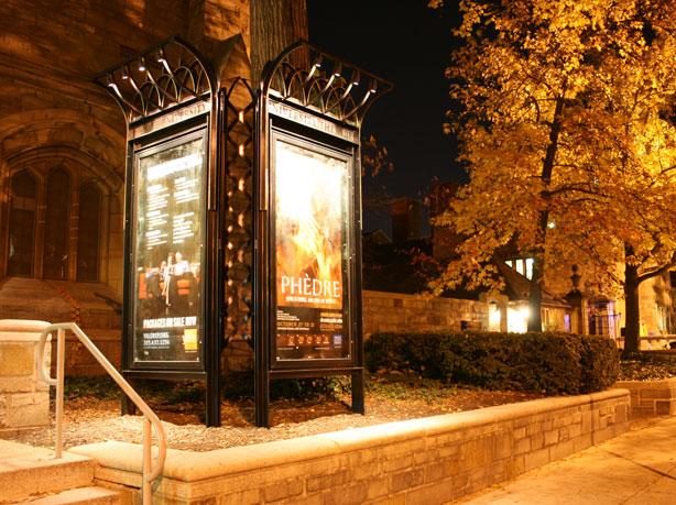 University Theatre Display Cases, Yale University